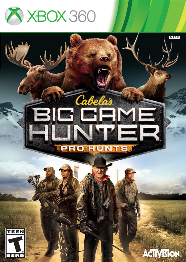 Box art - Cabela's Big Game Hunter: Pro Hunts