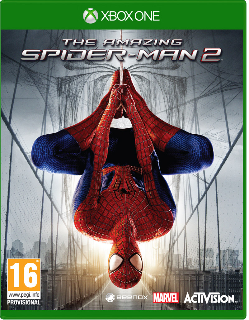 Box art - The Amazing Spider-Man 2