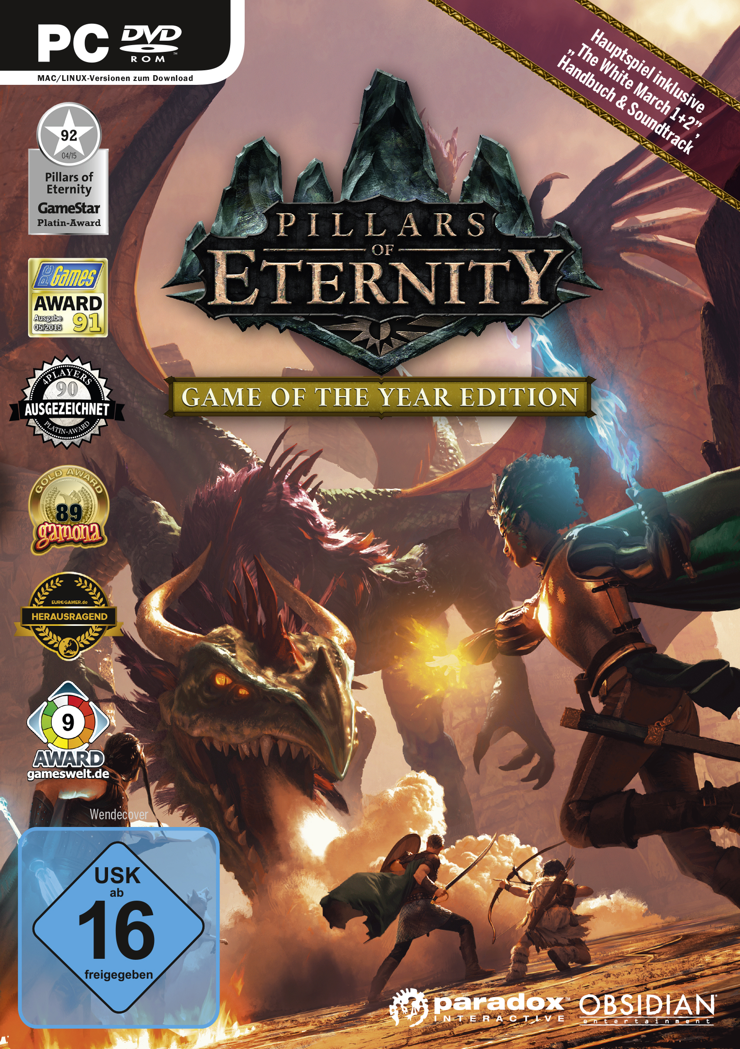 Box art - Pillars of Eternity