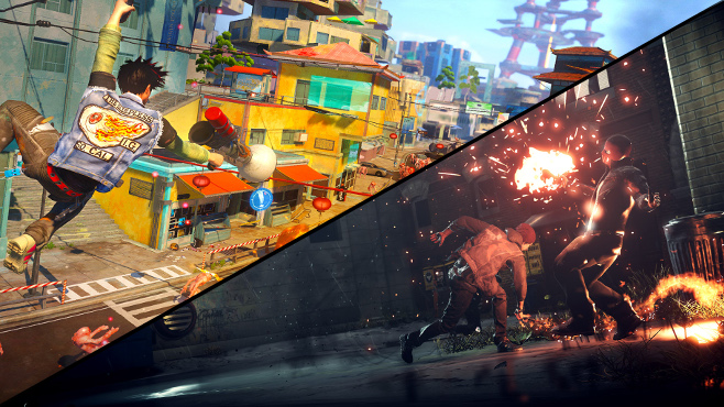 InFamous: Second Son to Sunset Overdrive Comparison