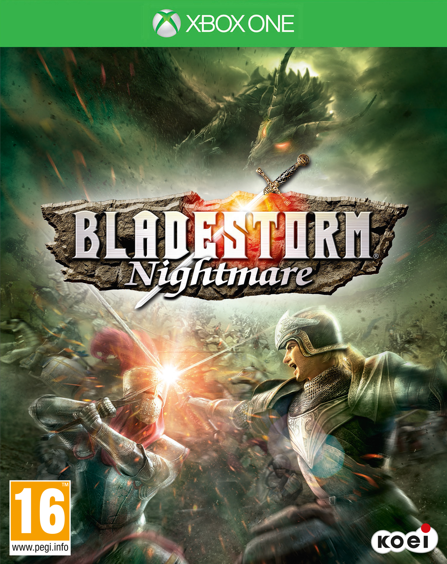 Box art - Bladestorm: Nightmare