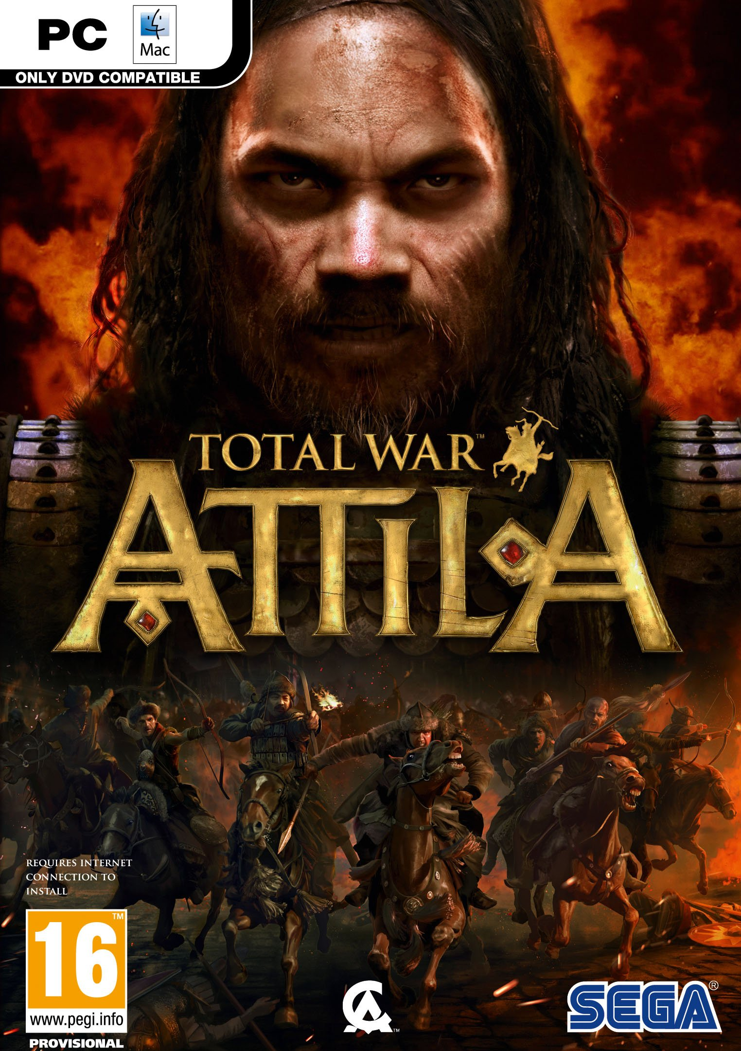 Box art - Total War: ATTILA