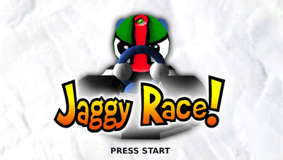 Box art - Jaggy Race!
