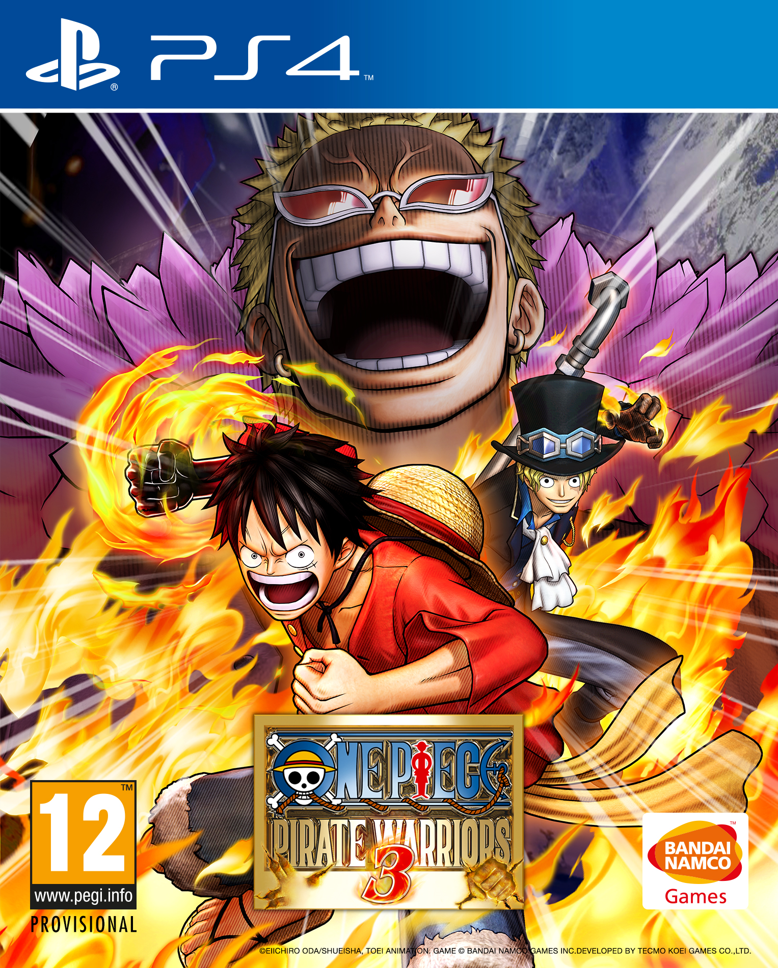 Box art - One Piece: Pirate Warriors 3