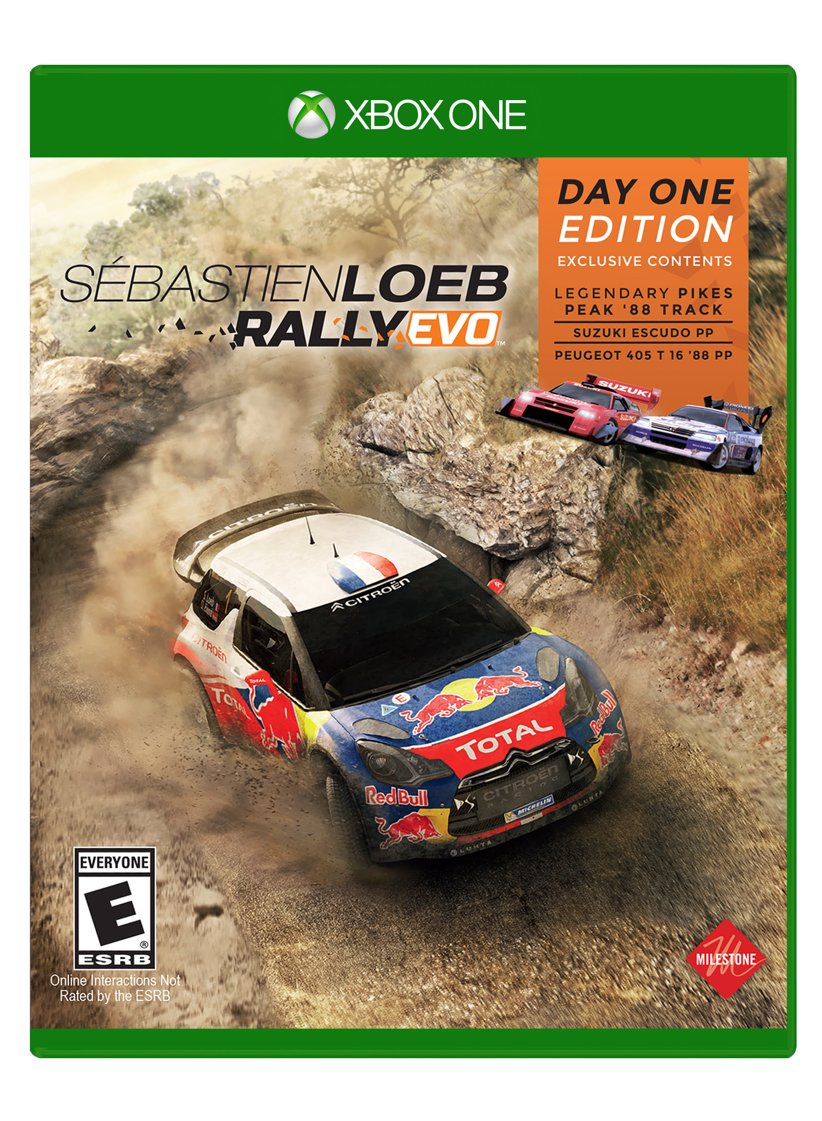 Box art - Sébastien Loeb Rally Evo