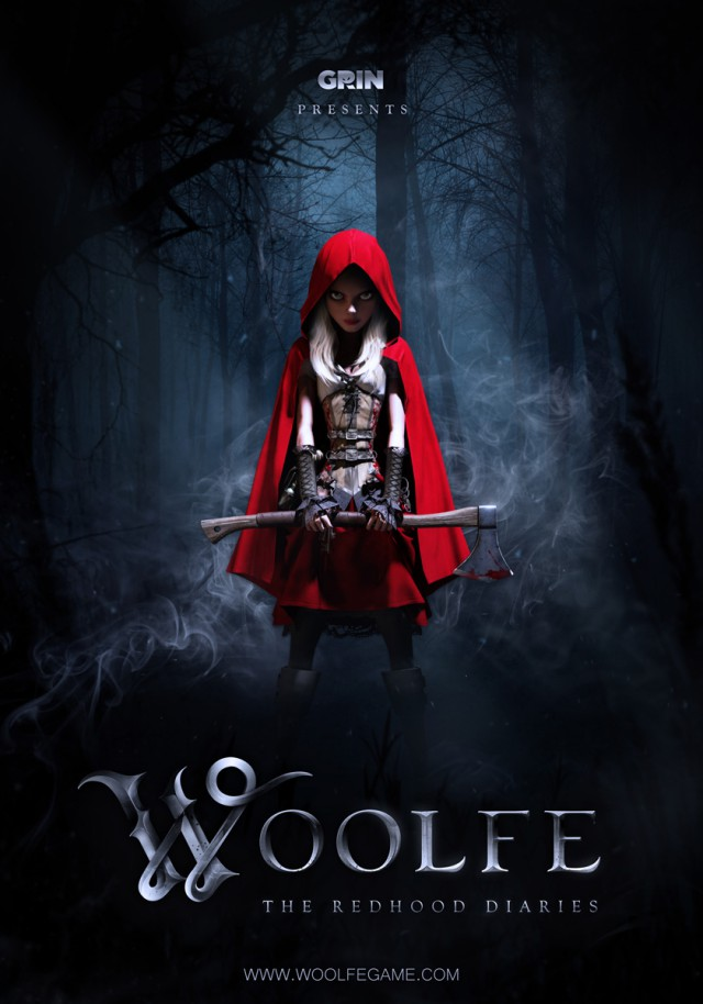 Box art - Woolfe: The Redhood Diaries