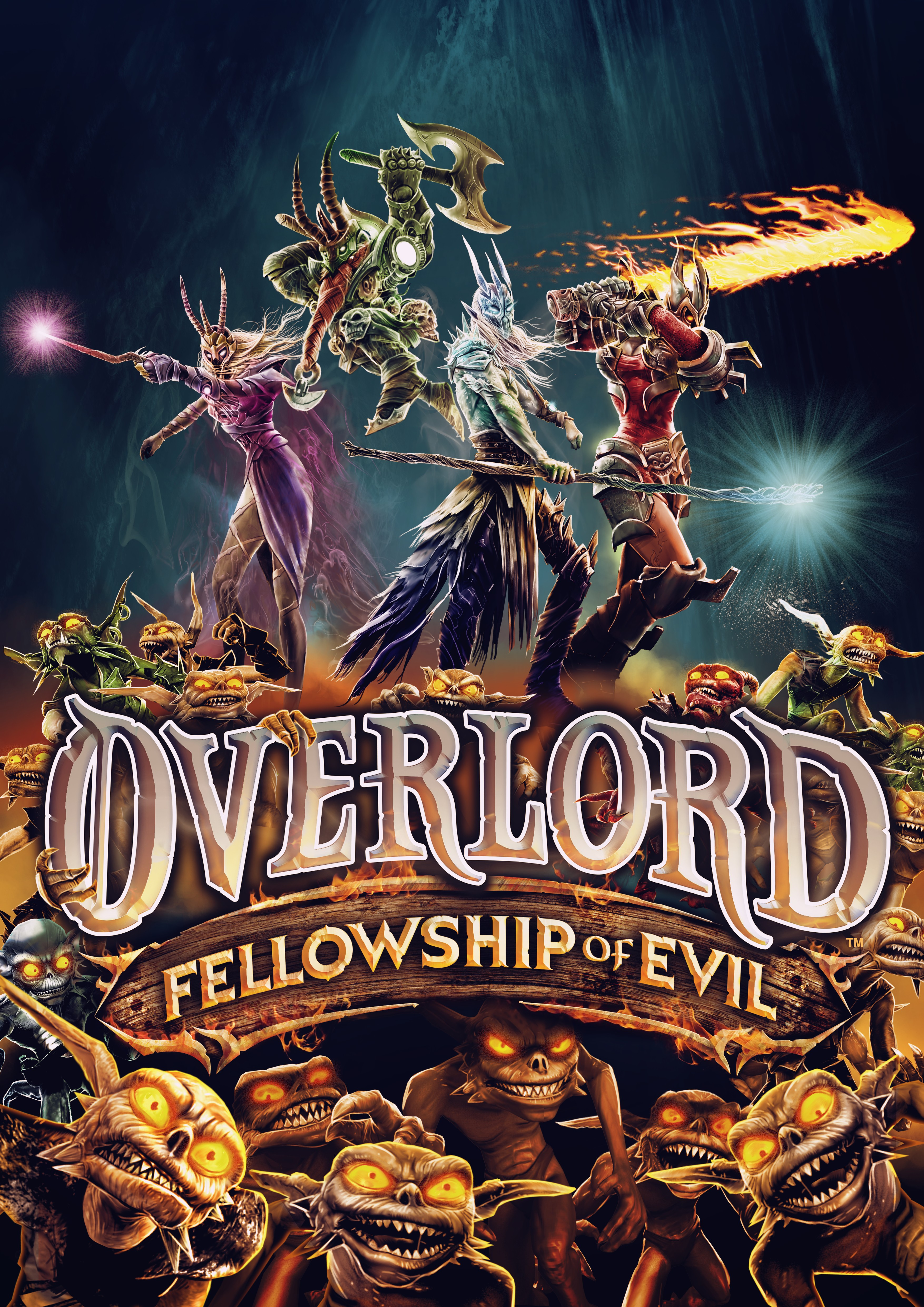 Box art - Overlord: Fellowship of Evil