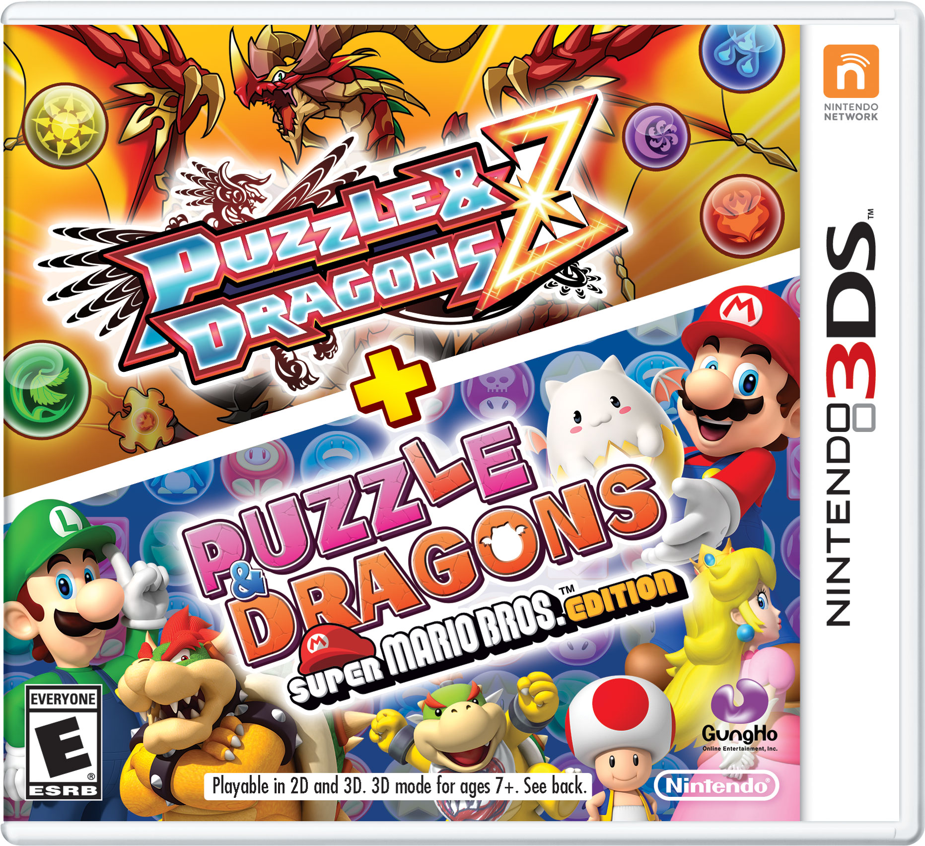 Box art - Puzzle & Dragons Z