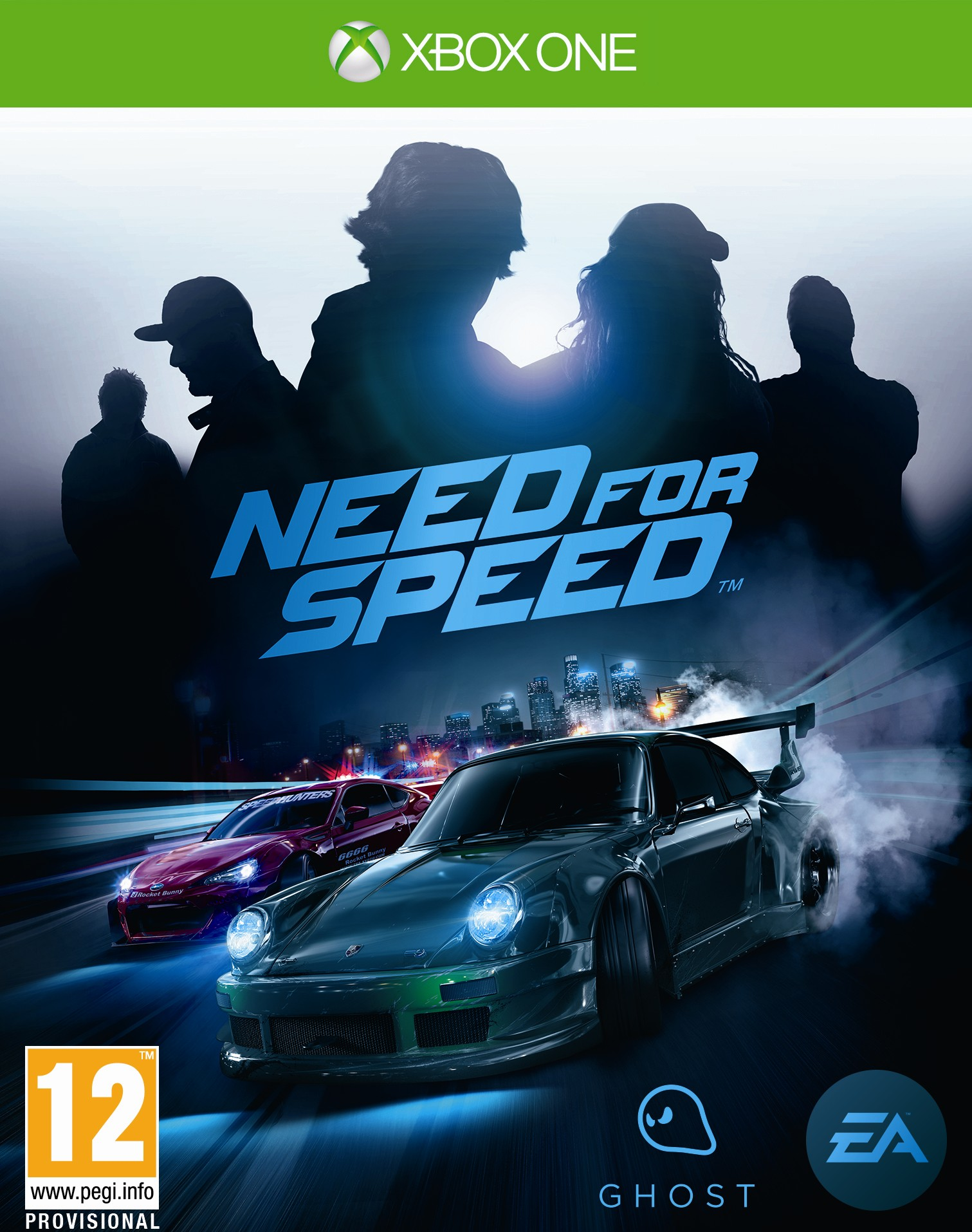 Box art - Need for Speed (2015)