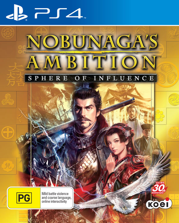 Box art - Nobunaga's Ambition (PS4)