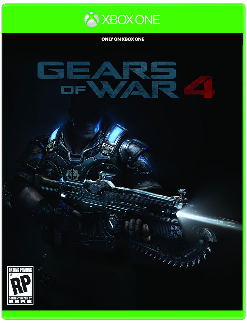 Box art - Gears of War 4
