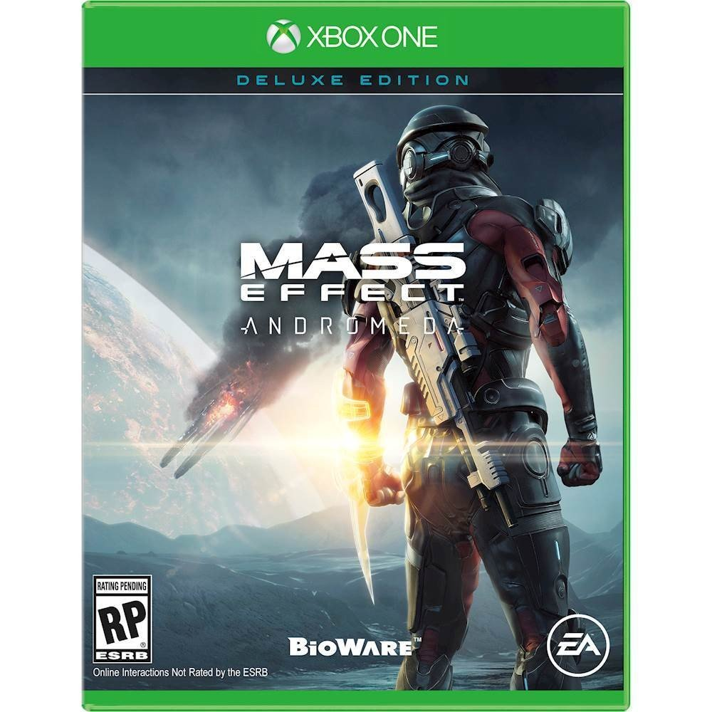 Box art - Mass Effect Andromeda