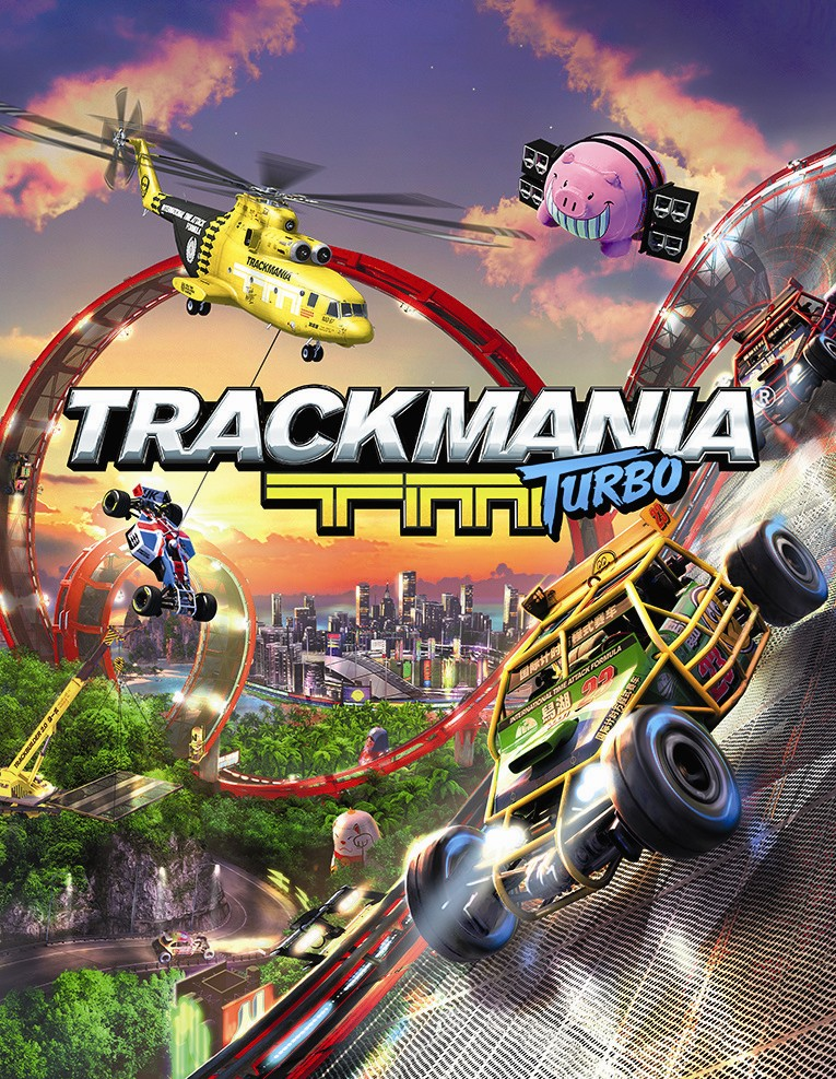 Box art - Trackmania Turbo
