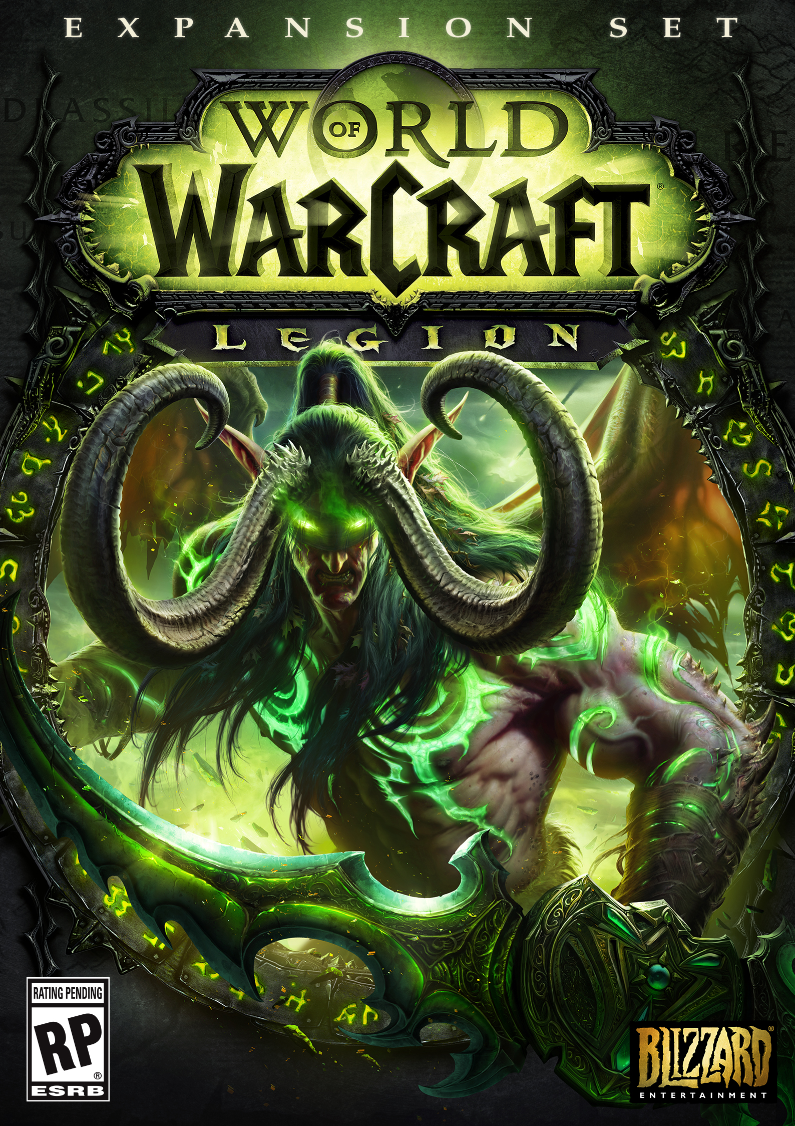 Box art - World of Warcraft: Legion
