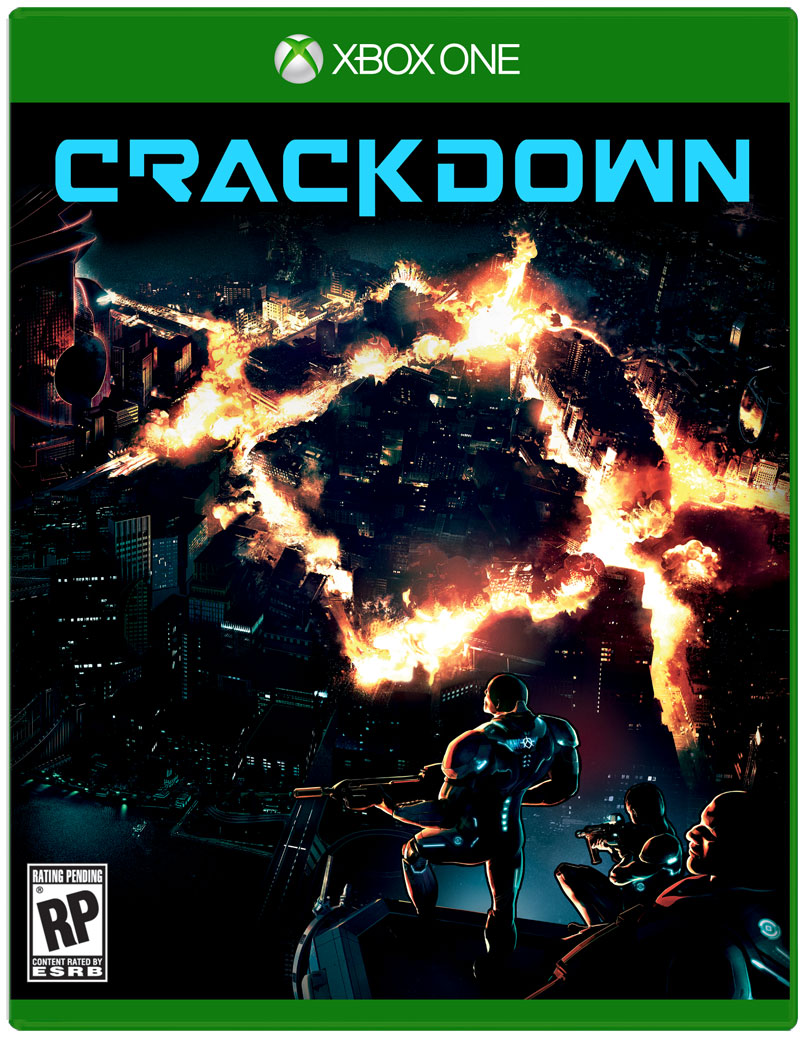Box art - Crackdown 3