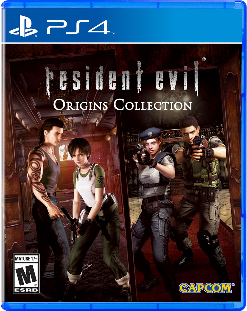 Box art - Resident Evil Origins Collection