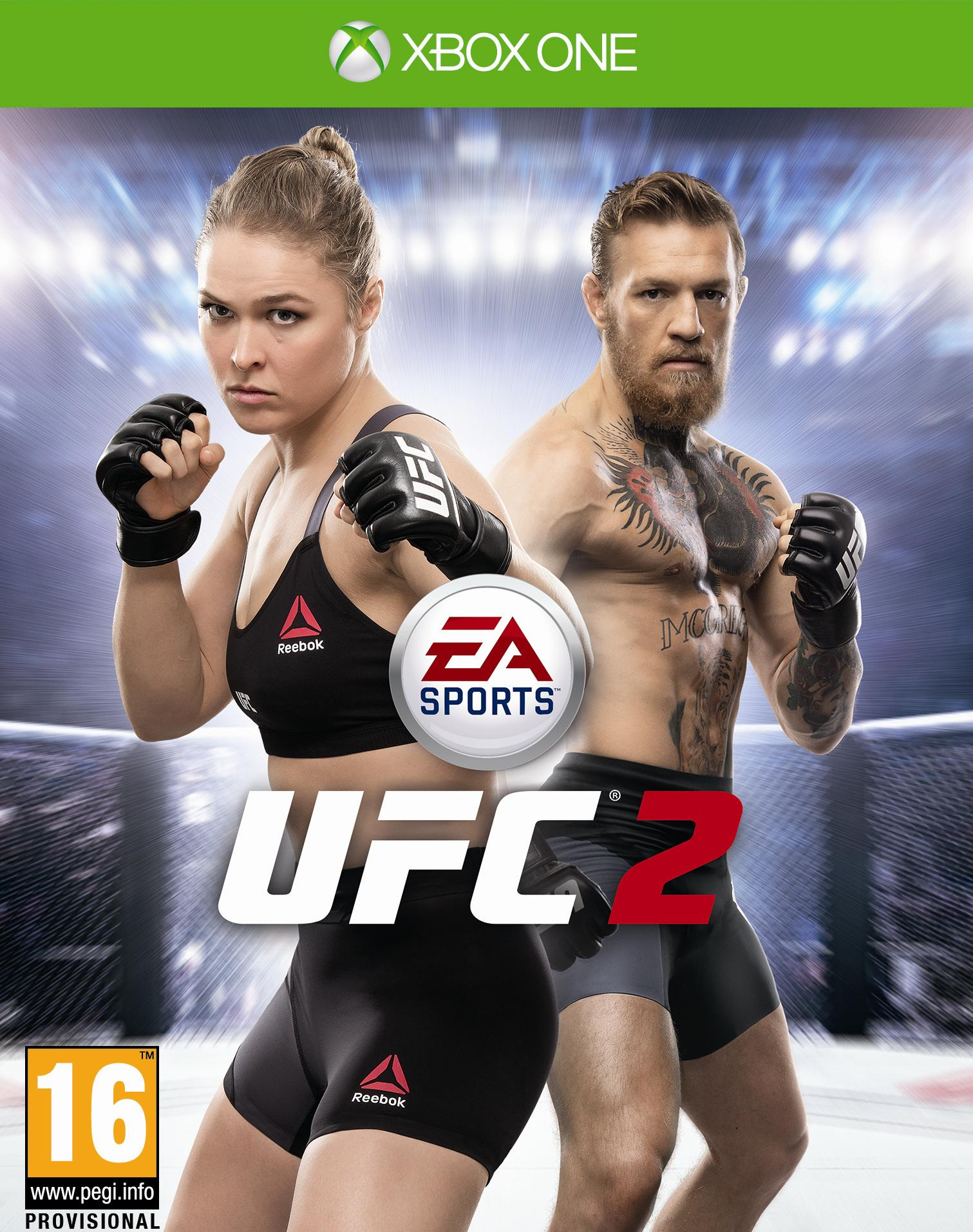 Box art - EA SPORTS UFC 2