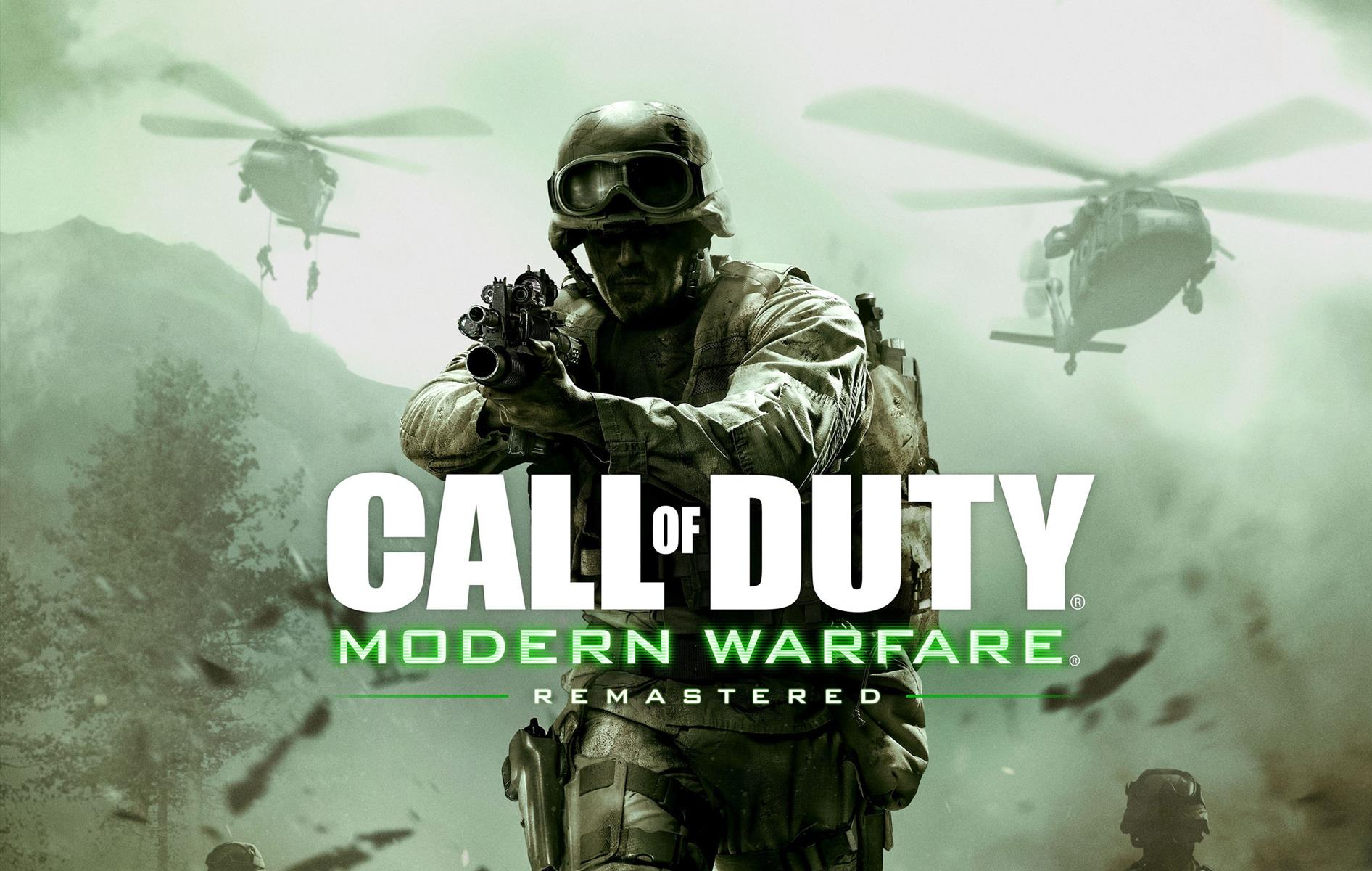 Standalone Call of Duty: Modern Warfare Remastered is coming out next week