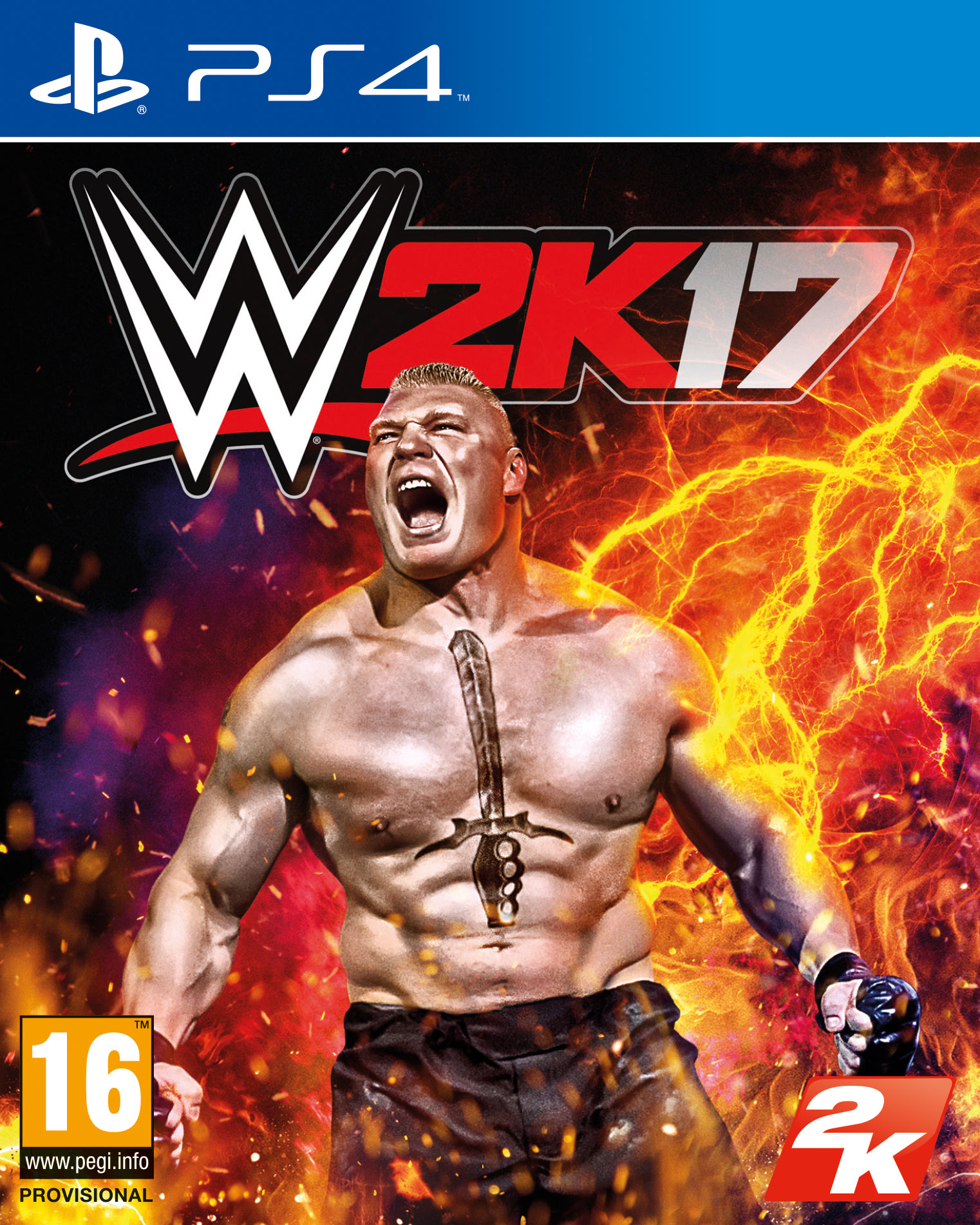 Box art - WWE 2K17