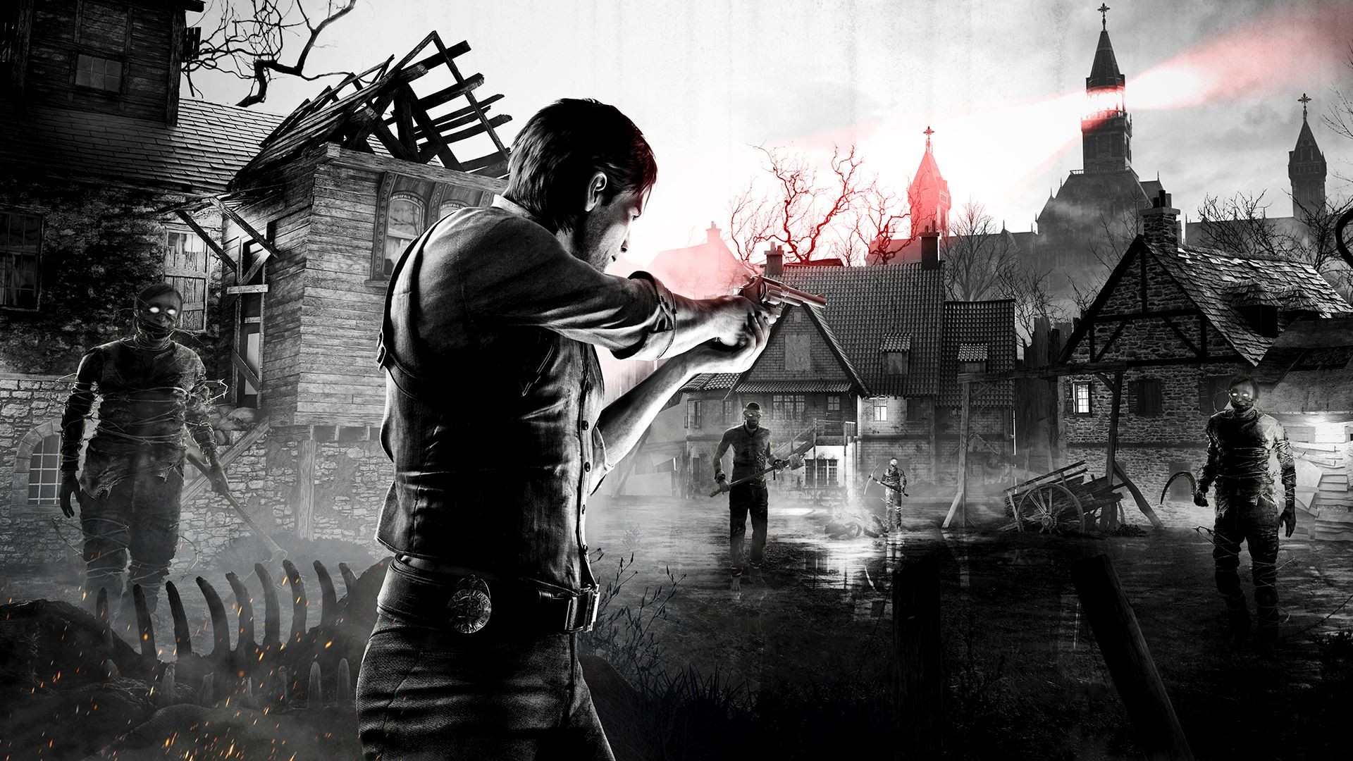 Wallpaper Theodore Harbinger The Evil Within 2 Hd: The Evil Within And Rage Did Well Enough To Justify