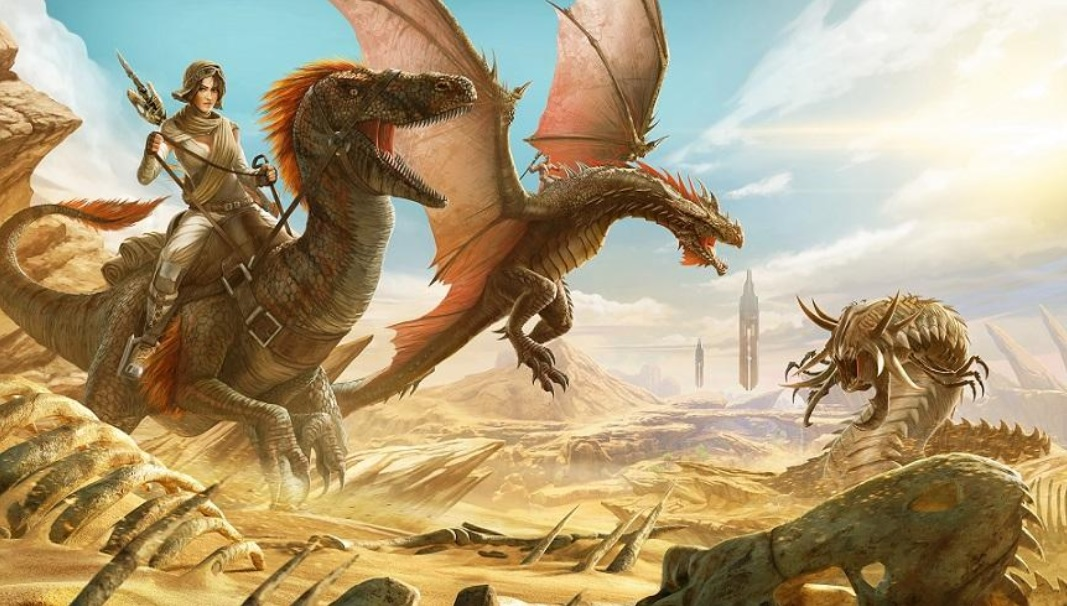Ark Survival Evolved Gets Surprise Scorched Earth Expansion With
