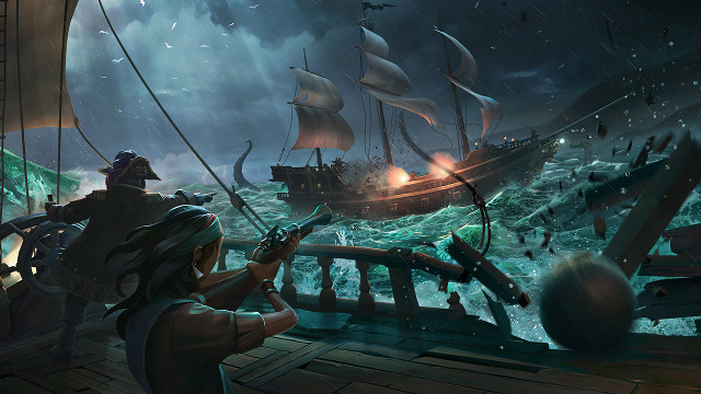 Sea of Thieves Considered Vampires and Dinosaurs Before Pirates