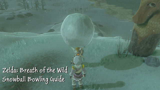 Zelda Breath Of The Wild A Guide To Snowball Bowling