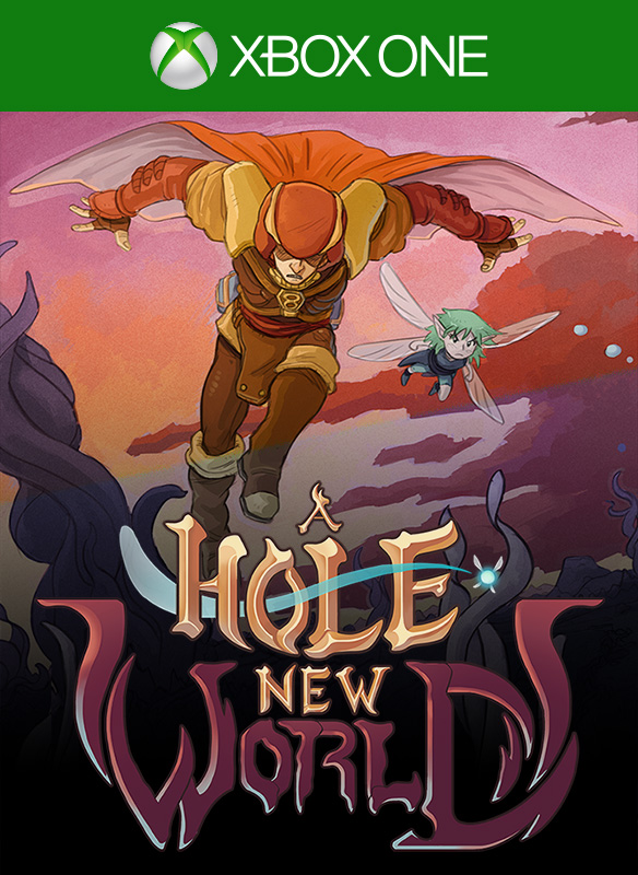 Box art - A Hole New World
