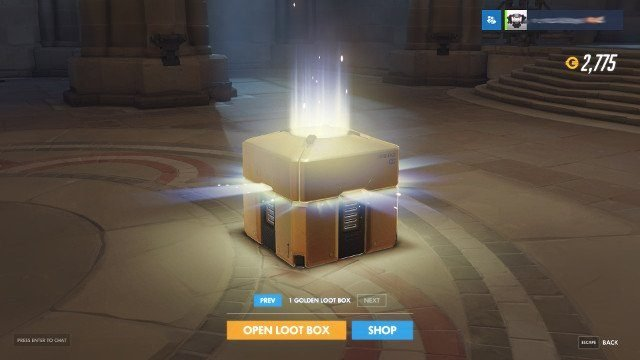 GoldenLootBox