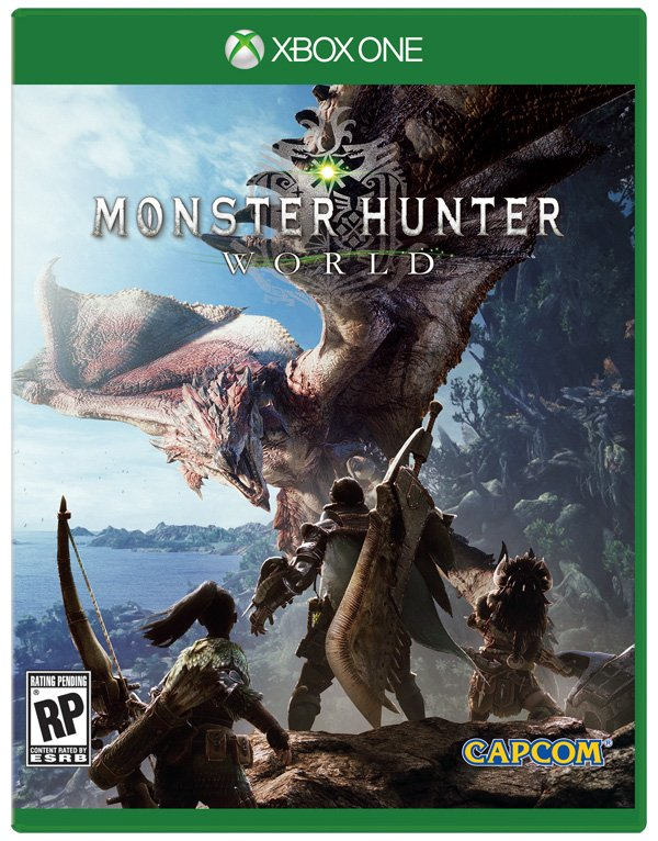 Box art - Monster Hunter World