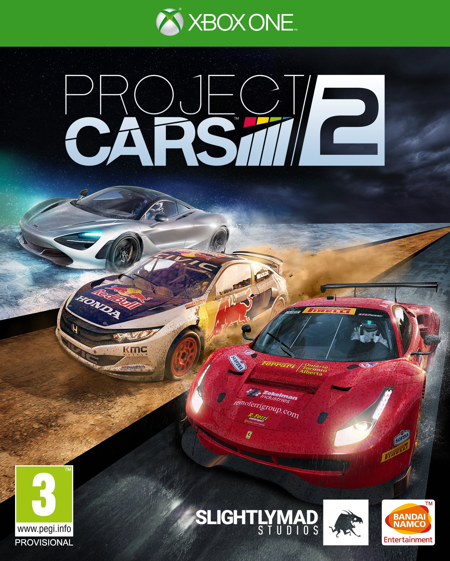 Box art - Project CARS 2