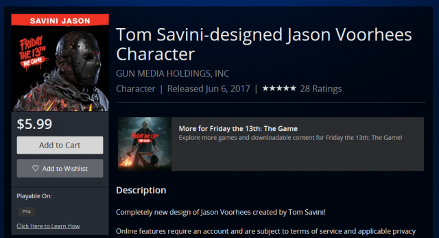Friday the 13th The Game: How to get savini Jason Dlc for ...