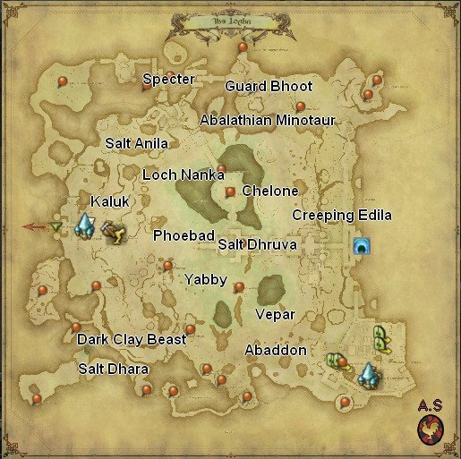 FFXIV: Stormblood - Location of All Daily Hunt Monsters