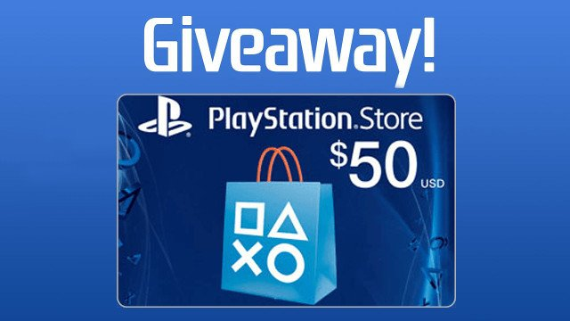 PlayStation Store $50 Gift Card Giveaway! - GameRevolution