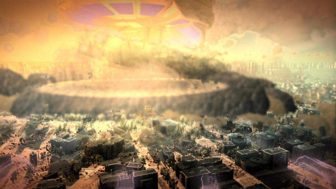 Megaton Rainfall's destructive spectacle gets trailer and date
