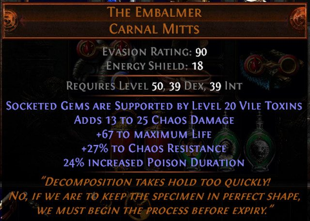 how to get unique items poe