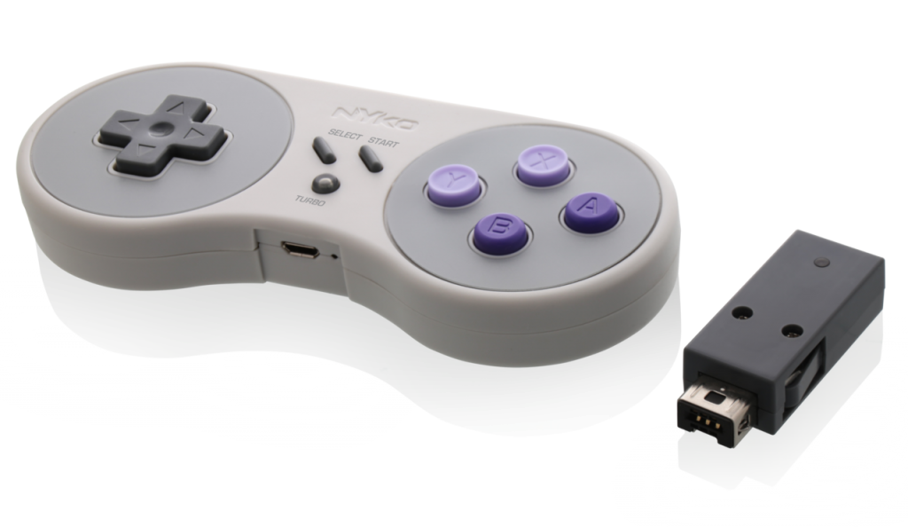 nyko reveals wireless controller for snes classic edition