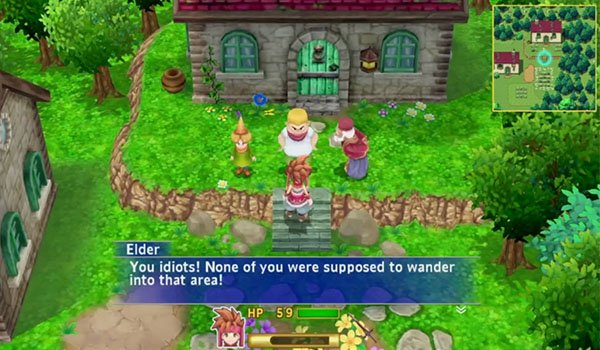 First gameplay footage of Secret of Mana remake appears