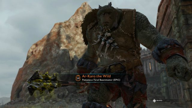 Shadow of War Epic Orc