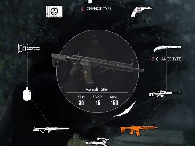 The Evil Within 2 Assault Rifle