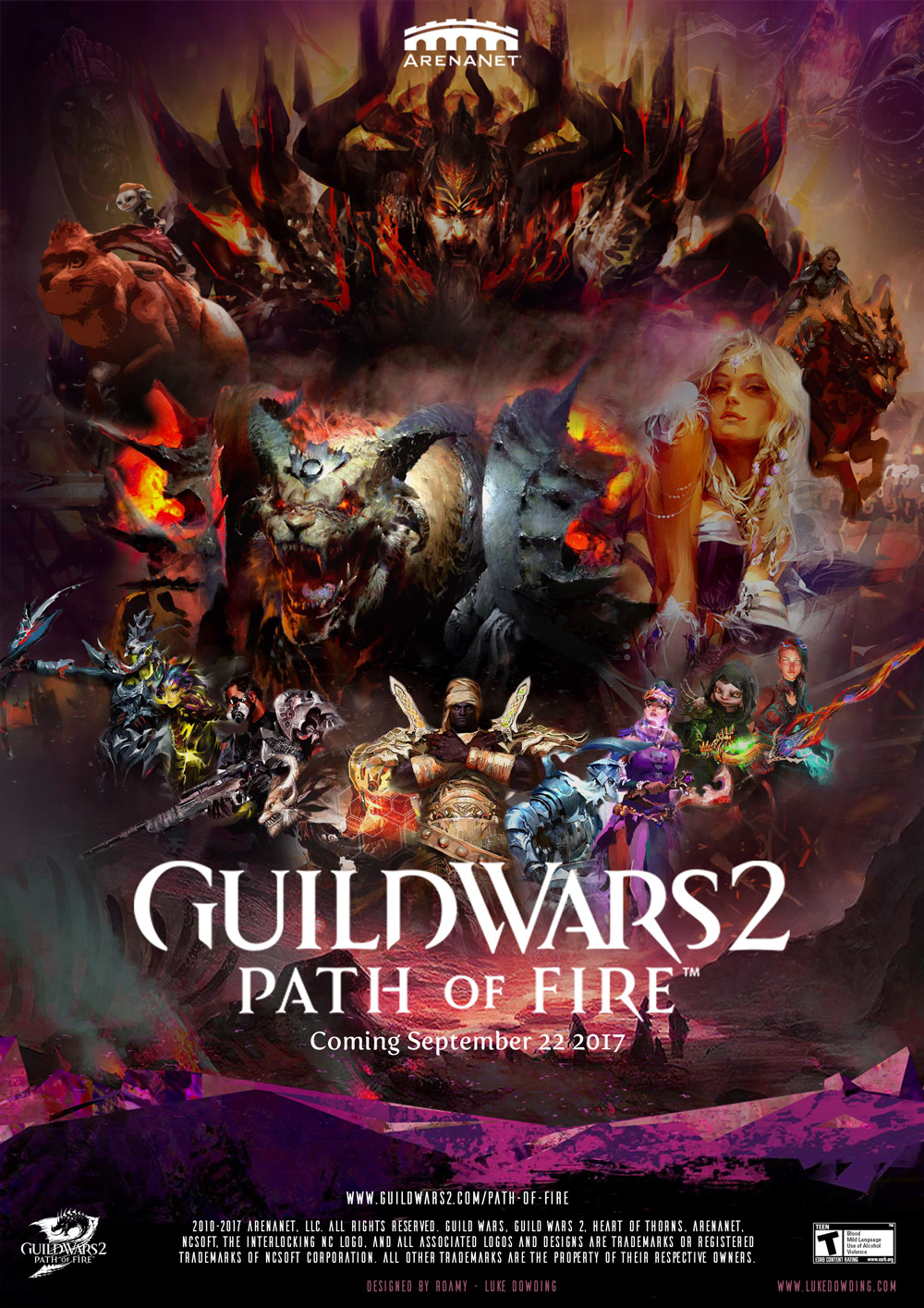 Box art - Guild Wars 2 Path of Fire