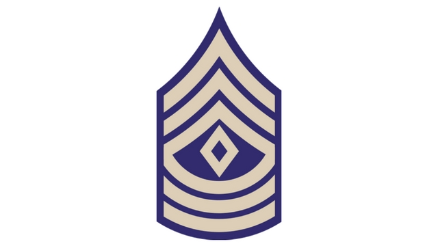 COD WW2 First Sergeant Rank
