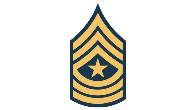 COD WW2 Sergeant Major Rank