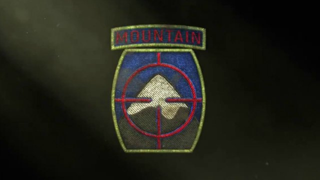 Call of Duty WW2 Mountain Division Patch