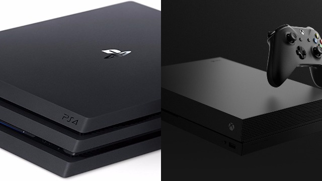 PS4 Pro and Xbox One X