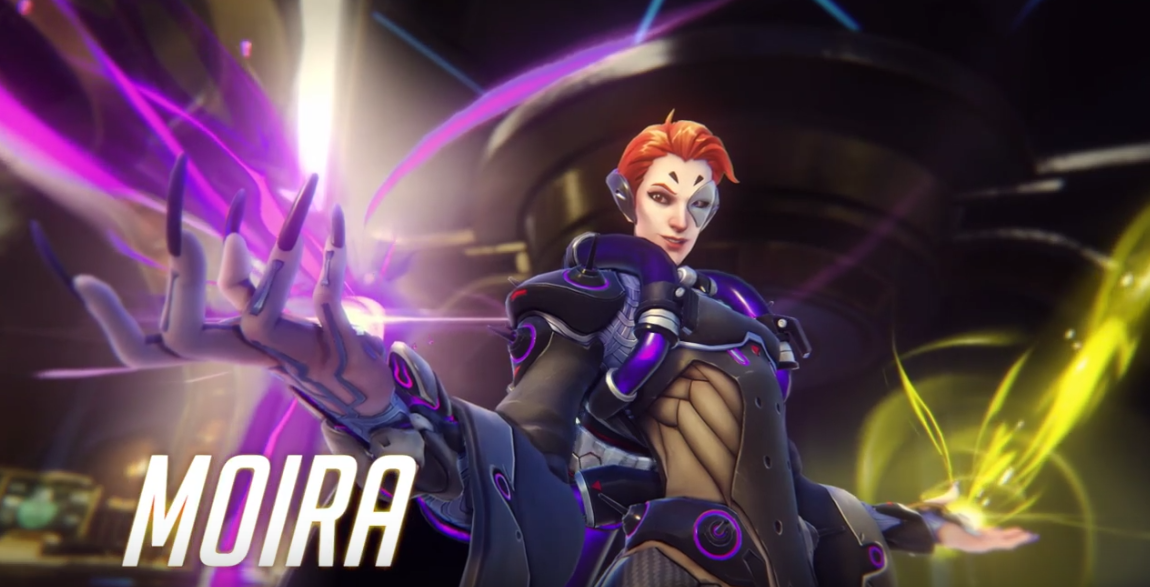 Moira is Playable in Overwatch Starting Today on Xbox One
