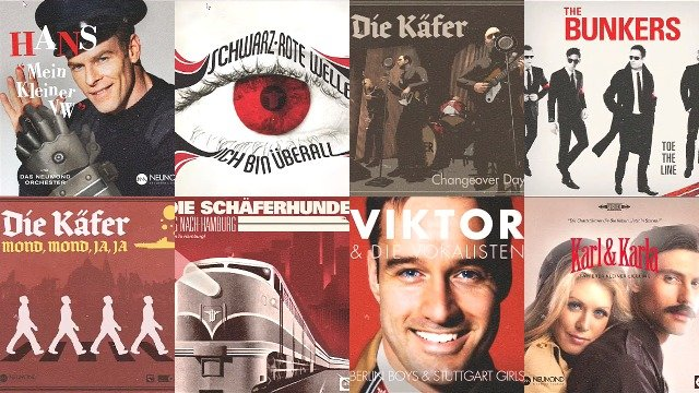 Wolfenstein 2 Record Album Covers