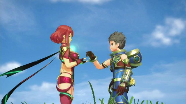 Xenoblade Chronicles 2 Rex and Pyra