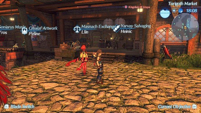 Xenoblade Chronicles 2 Torigoth Exchange Location