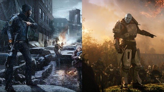 Destiny 2 vs The Division story